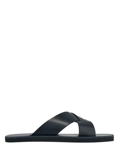 Ancient Greek Sandals Terlik Siyah
